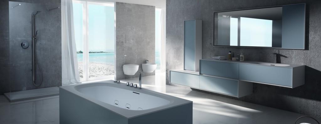 Realizzare un bagno blu   di giacomo pavimenti sas