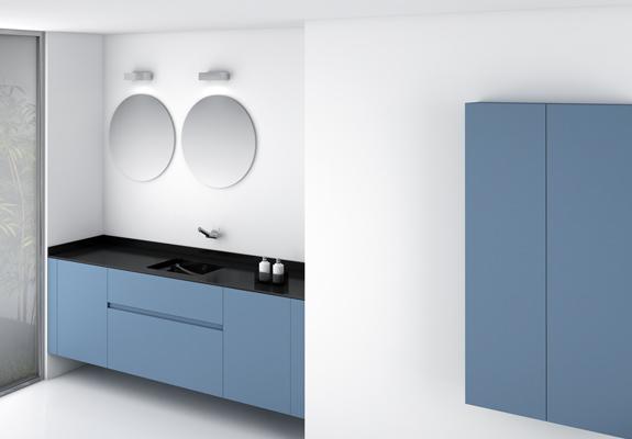 Realizzare un bagno blu di giacomo pavimenti - Cosmic accessori bagno ...