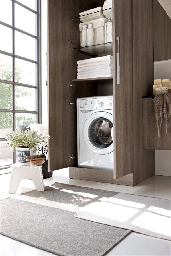Realizzare un bagno lavanderia di giacomo pavimenti sas for Armadio bagno ikea
