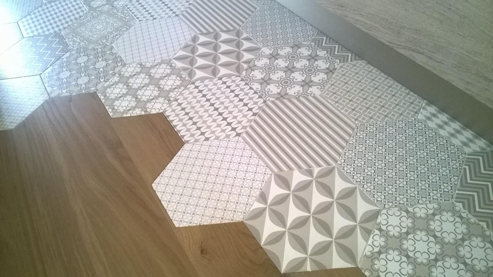 pavimento in parquet e ceramica - Di Giacomo Pavimenti