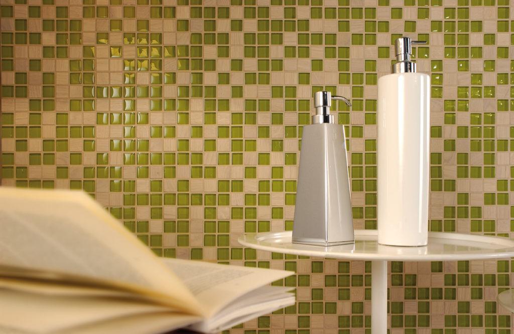 dialoghi verde mosaico+ - Di Giacomo Pavimenti