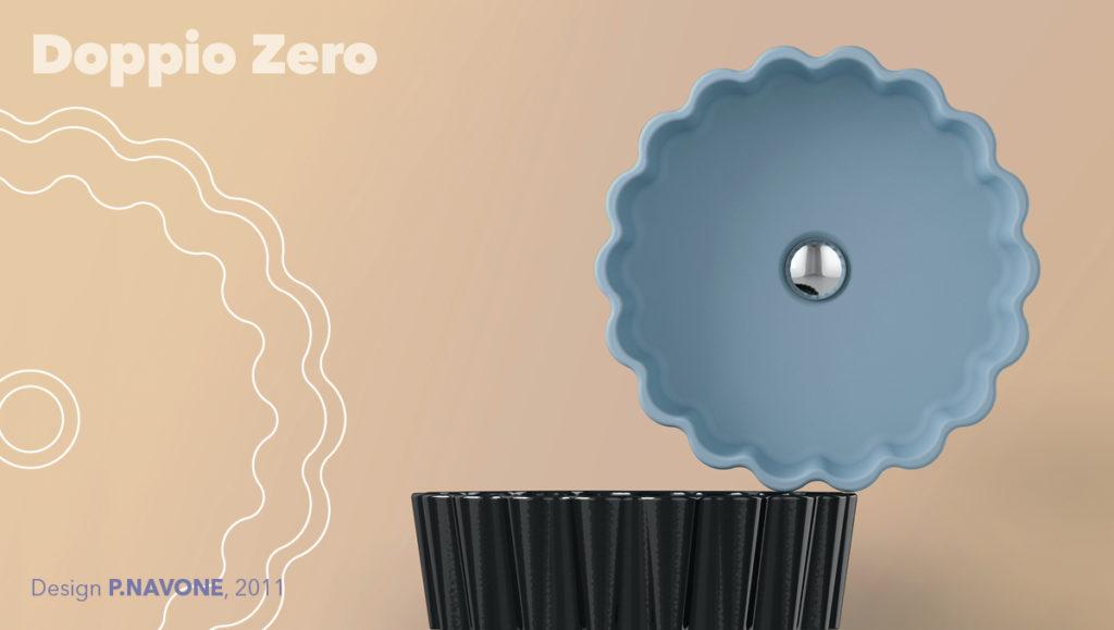 Lavabo appoggio Doppio Zero - Ceramica Flaminia