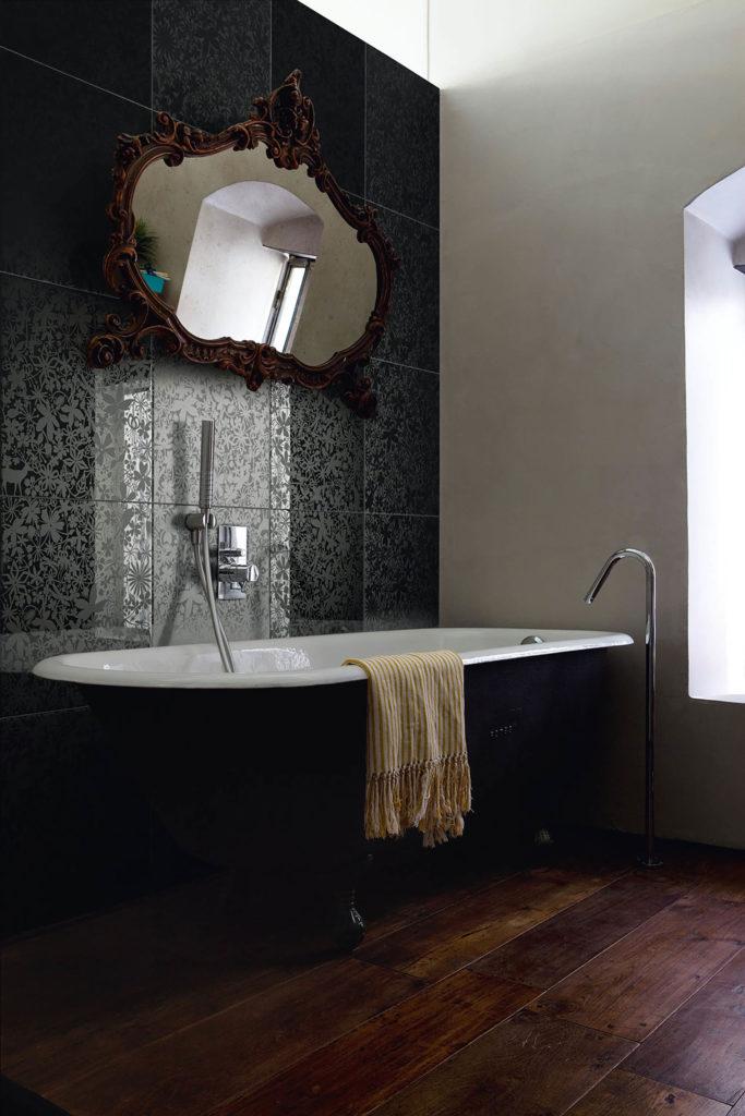 bagno scuro e nero - Di Giacomo Pavimenti